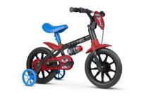Bicicleta Infantil Aro 12 Com Rodinhas Menino Mechanic - Nathor -