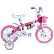 Bicicleta Infantil Aro 12 em Plástico Tina Mini-Houston -
