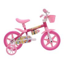 Bicicleta Infantil Aro 12 Flower Nathor - Cairu