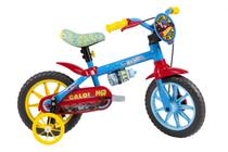 Bicicleta Infantil - Aro 12 - Hot Wheels - Azul - Caloi -