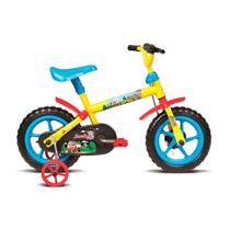 Bicicleta Infantil Aro 12 Jack Amarelo vermelho e azul 10456 - Verden -
