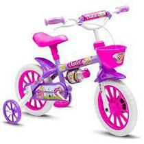 Bicicleta Infantil Aro 12 Menina De 3 A 5 Anos - Nathor -