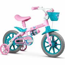 Bicicleta Infantil Aro 12 Menina Nathor - Charm -