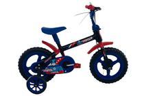 Bicicleta Infantil Aro 12 Menino Capitão América Azul - South