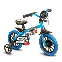 Bicicleta Infantil Aro 12 Modelo Veloz Masculina Menino - Nathor