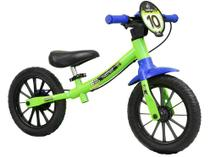 Bicicleta Infantil Aro 12 Nathor Balance - Verde