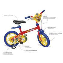 Bicicleta infantil aro 12 patrulha canina - bandeirante - Brinquedos Bandeirante