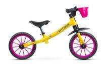 Bicicleta Infantil Aro 12 Sem Pedal Balance Bike Garden - Nathor -