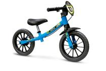 Bicicleta Infantil Aro 12 Sem Pedal Balance Bike Masculina - Nathor -