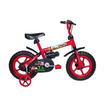 Bicicleta Infantil Aro 12 Verden Bikes Jack Vermelho E Preto -