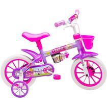 Bicicleta Infantil Aro 12 - Violet Rosa Nathor -