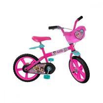 Bicicleta infantil Aro 14 Bandeirante Lol -