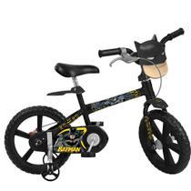 Bicicleta Infantil Aro 14 Batman Bandeirante 3202 -