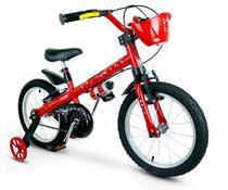 Bicicleta Infantil Aro 16 Aro Em Alumínio Com Rodinhas Menina Lady - Nathor -