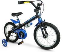 Bicicleta Infantil Aro 16 Aro Em Alumínio Com Rodinhas Menino Apollo - Nathor -