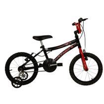 Bicicleta Infantil Aro 16 Athor Atx Masculino Bike Pto/verm -