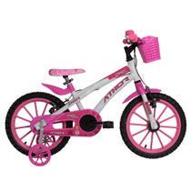 Bicicleta Infantil Aro 16 Athor Baby Lux Princess Feminina -