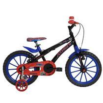 Bicicleta Infantil Aro 16 Athor Baby Lux Spider Masculino -