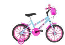 Bicicleta Infantil Aro 16 Azul e Rosa Ultra Bikes -