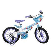 Bicicleta Infantil Aro 16 Bandeirante Frozen Disney -