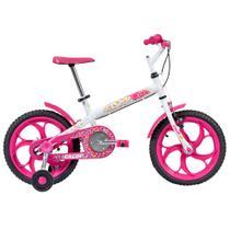 Bicicleta Infantil - Aro 16 - Cecizinha - Branco - Caloi -