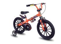 Bicicleta Infantil Aro 16 Com Rodinhas Menino Extreme - Nathor -