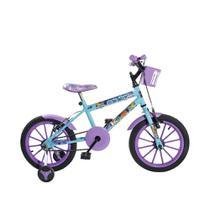 Bicicleta Infantil Aro 16 Girls KLS Rodas em Nylon Freios V-Brake -