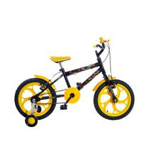 Bicicleta Infantil Aro 16 Heroes KLS Rodas em Nylon Freios V-brake -