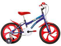 Bicicleta Infantil Aro 16 Houston Nic Azul Copa - com Rodinhas