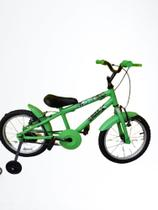 Bicicleta infantil aro 16 Hulk - wendy