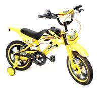 Bicicleta Infantil Aro 16 Moto Bike C/ Rodinha Menino - Unitoys
