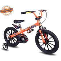 Bicicleta Infantil Aro 16 Nathor Masculina Aço Carbono Abs -