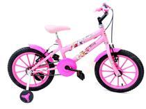 Bicicleta Infantil Aro 16 Paty Rosa/Pink - Ello Bike -