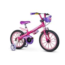 Bicicleta Infantil Aro 16 Rodinhas Menina Top Girls Nathor -