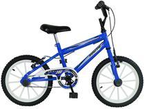 Bicicleta Infantil Aro 16 South Bike Ferinha  - Azul com Rodinhas Freio V-Brake