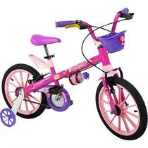 Bicicleta Infantil Aro 16 Top Girls Nathor