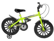 Bicicleta Infantil Aro 16 Track  Bikes Dino Neon  - Freio V-Brake