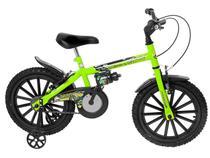 Bicicleta Infantil Aro 16 Track & Bikes Dino Neon  - Freio V-Brake