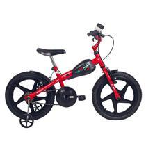 Bicicleta Infantil Aro 16 Verden Bikes Vr 600 Vermelha E Preta -