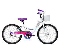 Bicicleta Infantil Aro 20 Caloi Ceci 20 Freio VBrake  Branca -