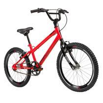 Bicicleta Infantil Aro 20 Caloi Expert Vermelho Freio V-Brake -