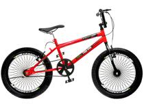 Bicicleta Infantil Aro 20 Colli Bike - Cross Free Ride Vermelha Freio V-Brake