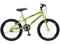 Bicicleta Infantil Aro 20 Colli Max Boy - Amarelo Neon Freio V-Brake