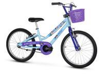Bicicleta Infantil Aro 20 Com Pezinho Menina Show Da Luna - Nathor -