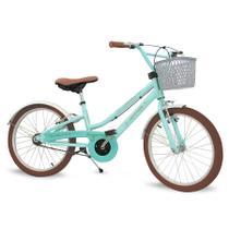 Bicicleta Infantil Aro 20 Com Rodinhas Menina Antonella - Nathor -