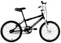 Bicicleta Infantil Aro 20 Cross Bmx Freestyle Mutante Preta - Dalannio Bike