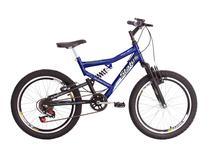 Bicicleta Infantil Aro 20 Dupla Suspensão 6v Status - STATUS BIKE