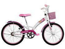 Bicicleta Infantil Aro 20 Feminina Fashion com Paralama e Cesta - Dalannio Bike