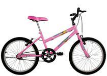 Bicicleta Infantil Aro 20 Feminina Milla Rosa - Dalannio Bike