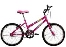 Bicicleta Infantil Aro 20 Feminina Milla Rosa Pink - Dalannio Bike
